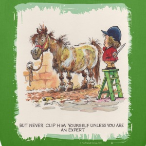 Thelwell Pony with hairdresser - EarthPositive Tote Bag