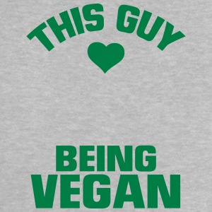 THIS GUY HERE IS A VEGAN! Baby Shirts  - Baby T-Shirt