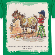 Design ~ Thelwell Pony with hairdresser