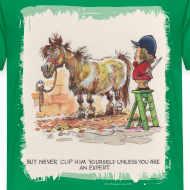 Motiv ~ Thelwell Pony with hairdresser