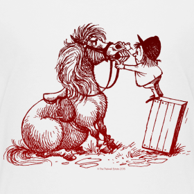 Motiv ~ Thelwell Pony with dentist