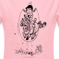 Design ~ Thelwell Pony with skipping rope
