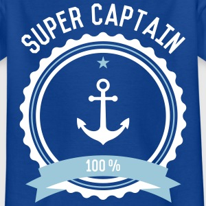 Super Captain Kinder T-Shirt - Kinder T-Shirt