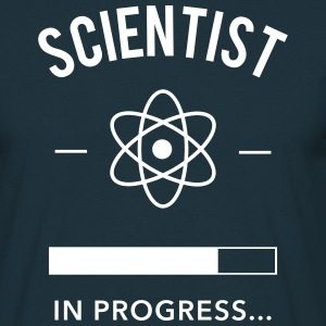 Scientist in progress Camisetas - Camiseta hombre