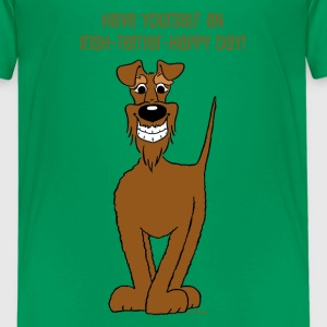 Irischer Terrier Smile - Teenager Premium T-Shirt