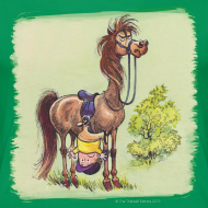 Design ~ Thelwell Pony Rider is headlong