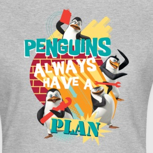 Pinguine 'Penguis have a plan' - Frauen T-Shirt