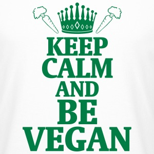 STAY COOL AND LIVE VEGAN! T-Shirts - Men's Long Body Urban Tee