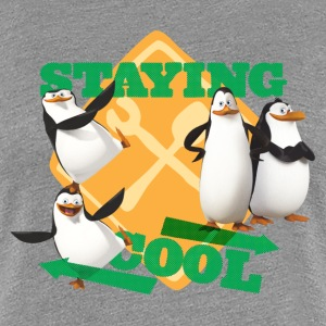 Penguins 'Staying cool' - Women's Premium T-Shirt