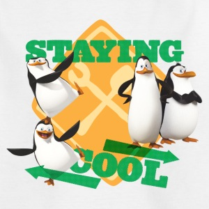 Penguins 'Staying cool' - Teenage T-shirt