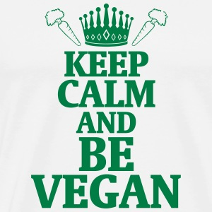 STAY COOL AND LIVE VEGAN! T-Shirts - Men's Premium T-Shirt