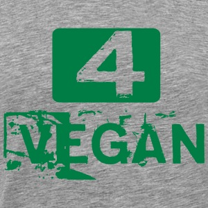 FOR GOOD VEGAN T-Shirts - Men's Premium T-Shirt