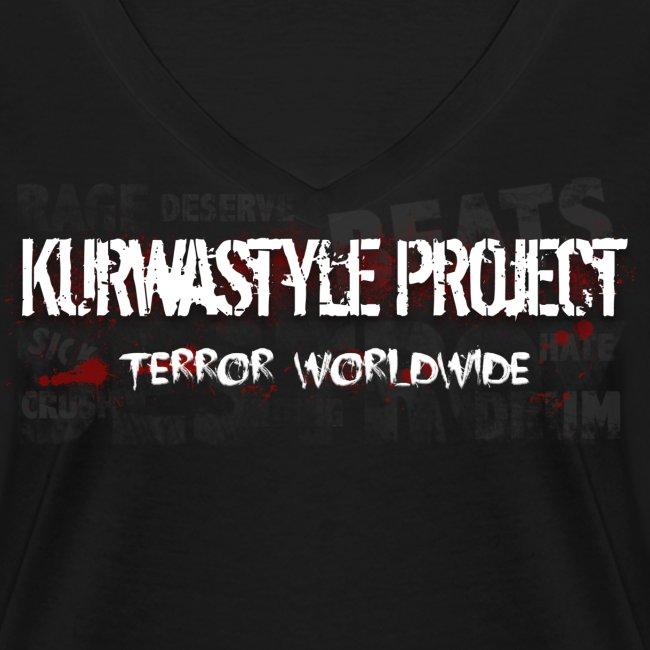 Kurwastyle Project 2016 Women's V-neck T-Shirt