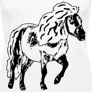 Pony 1 Tops - Frauen Premium Tank Top