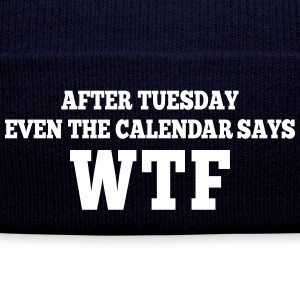 after Tuesday even the calendar says wtf Petten & Mutsen - Wintermuts
