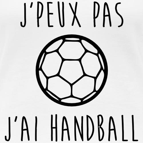 j'peux pas j'ai handball