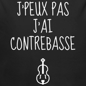 Double Bass - Contrebasse - Music - Kontrabass Baby Bodysuits - Longlseeve Baby Bodysuit