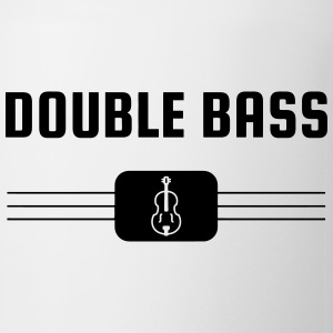 Double Bass - Contrebasse - Music - Kontrabass Mugs & Drinkware - Mug