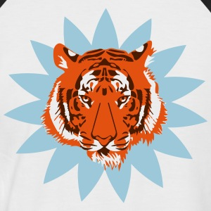 Tigre Afrique 2 Tee shirts - T-shirt baseball manches courtes Homme