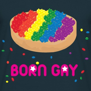 Born gay T-Shirts - Men's T-Shirt