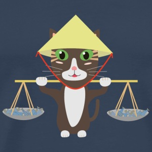 Vietnamese cat T-Shirts - Men's Premium T-Shirt