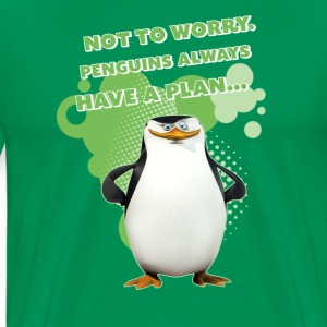 Penguins 'Skipper' - Men's Premium T-Shirt