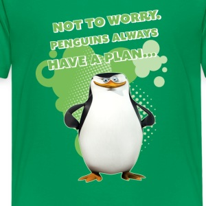 Penguins 'Skipper' - Teenage Premium T-Shirt