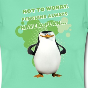 Pinguine 'Skipper' - Frauen T-Shirt