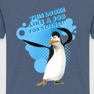 Penguins 'Kowalski' - Teenage Premium T-Shirt