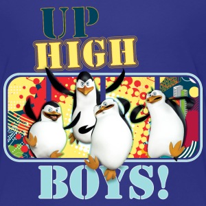 Penguins Up High Boys - Kids' Premium T-Shirt