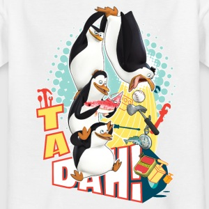 Penguins 'Tadah!' - Teenage T-shirt