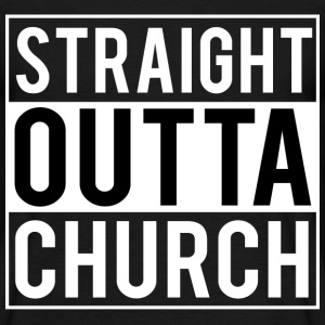 Straight Outta Church T-Shirts - Men's T-Shirt