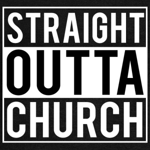 Straight Outta Church Hoodies & Sweatshirts - Women's Boat Neck Long Sleeve Top