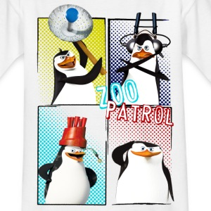 Pinguine 'Zoo Patrol' - Teenager T-Shirt