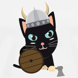 Viking cat T-Shirts - Men's Premium T-Shirt