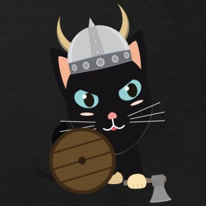 Viking cat Shirts - Kids' Organic T-shirt
