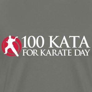 100 Kata for Karate Day official tshirt 01 - Men's Premium T-Shirt
