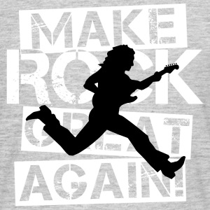 Mak Rock Great Again - White / Action - Männer T-Shirt