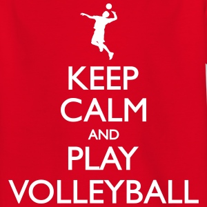 Keep Calm play Volleyball Tee shirts - T-shirt Enfant