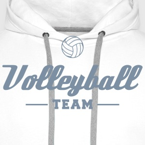 Volleyball Team Sweat-shirts - Sweat-shirt à capuche Premium pour hommes