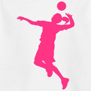 Feamle Volleyball Player Tee shirts - T-shirt Enfant