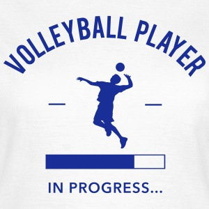 Volleyball Player loading Tee shirts - T-shirt Femme