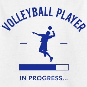 Volleyball Player loading Shirts - Kinderen T-shirt