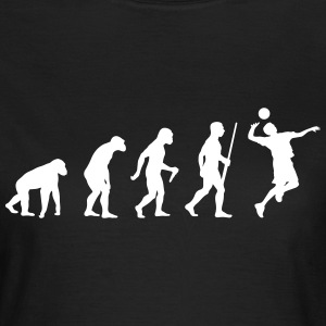 Volleyball Spieler Evolution - Frauen T-Shirt