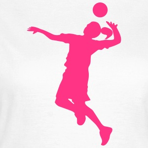 Feamle Volleyball Player T-Shirts - Women's T-Shirt