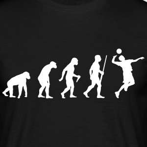 Volleyballer Evolution Tee shirts - T-shirt Homme