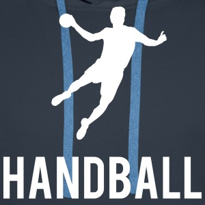 Handball Sweat-shirts - Sweat-shirt à capuche Premium pour hommes