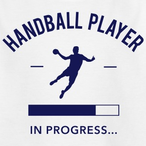 Handball player loading Shirts - Kids' T-Shirt