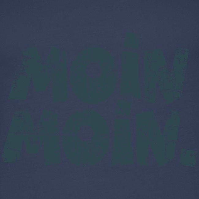 Moin Moin. (Vintage Blau) Tank Top