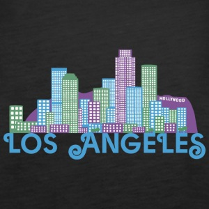 Los Angeles Skyline Tops - Women's Premium Tank Top